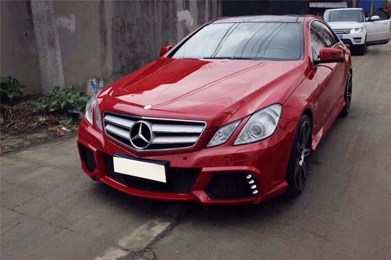 Mercedes benz e class w207 coupe 2010 2013 full body kit for Mercedes benz w207
